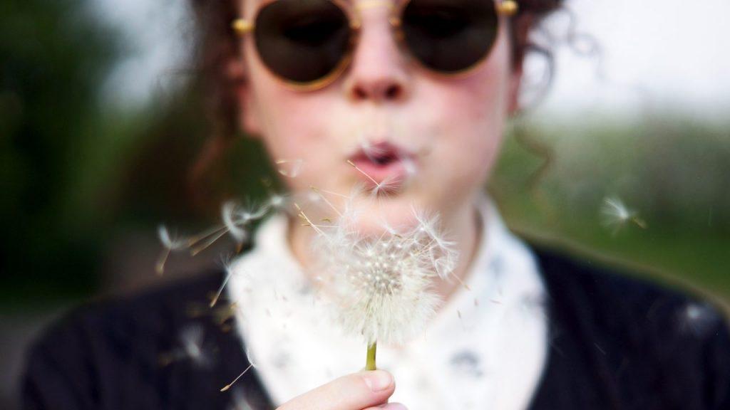 making a wish