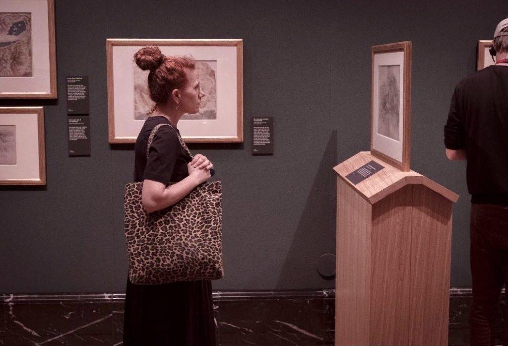 Leonardo da Vinci exhibit