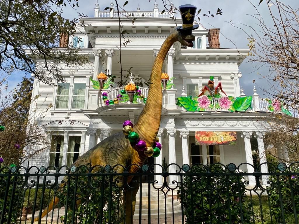 Mardi Gras house float